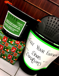 donation baskets